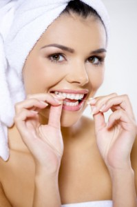 Daily flossing is essential for overall heathy mouth