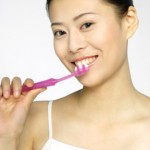 Brushing for a healthy smile